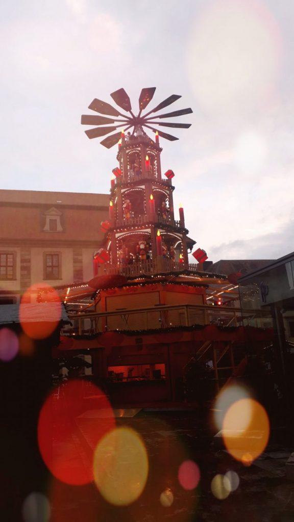 Fulda Weihnachtsmarkt Pyramide