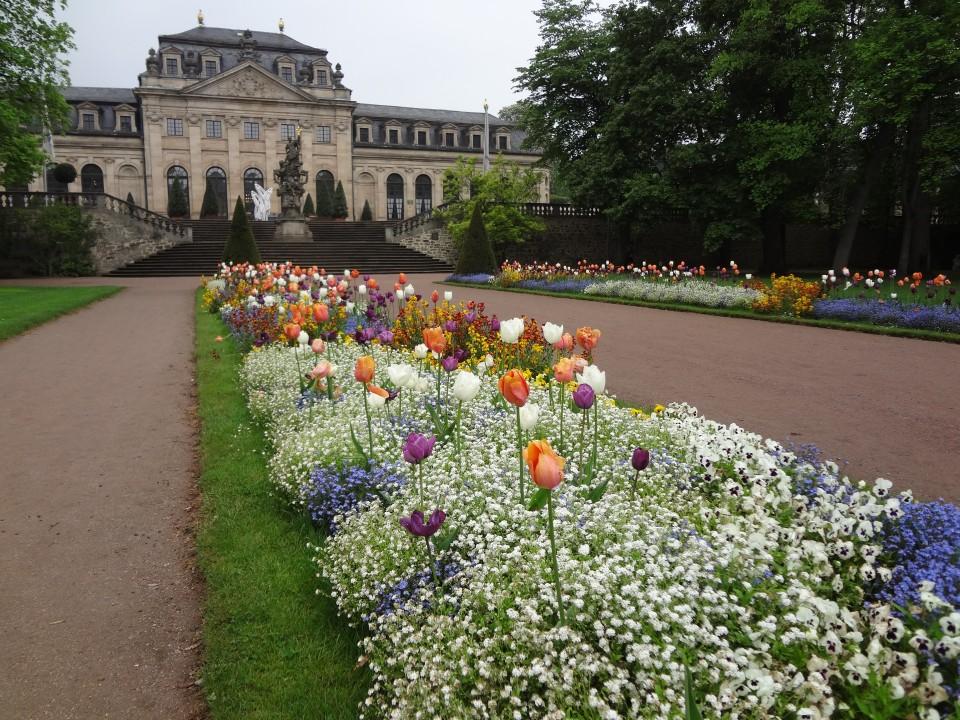 Fulda Bepflanzung im Schloßpark