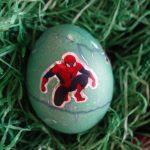 Spiderman auf Osterei