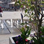 Spring Brunnen Fulda