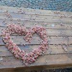 Herz aus Blüten Fulda