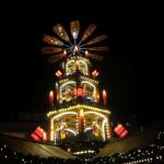Weihnachtsmarkt Fulda Pyramide