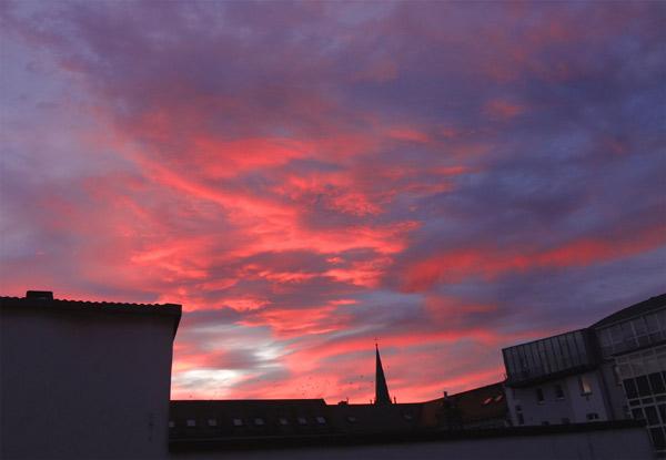 Himmel über Fulda